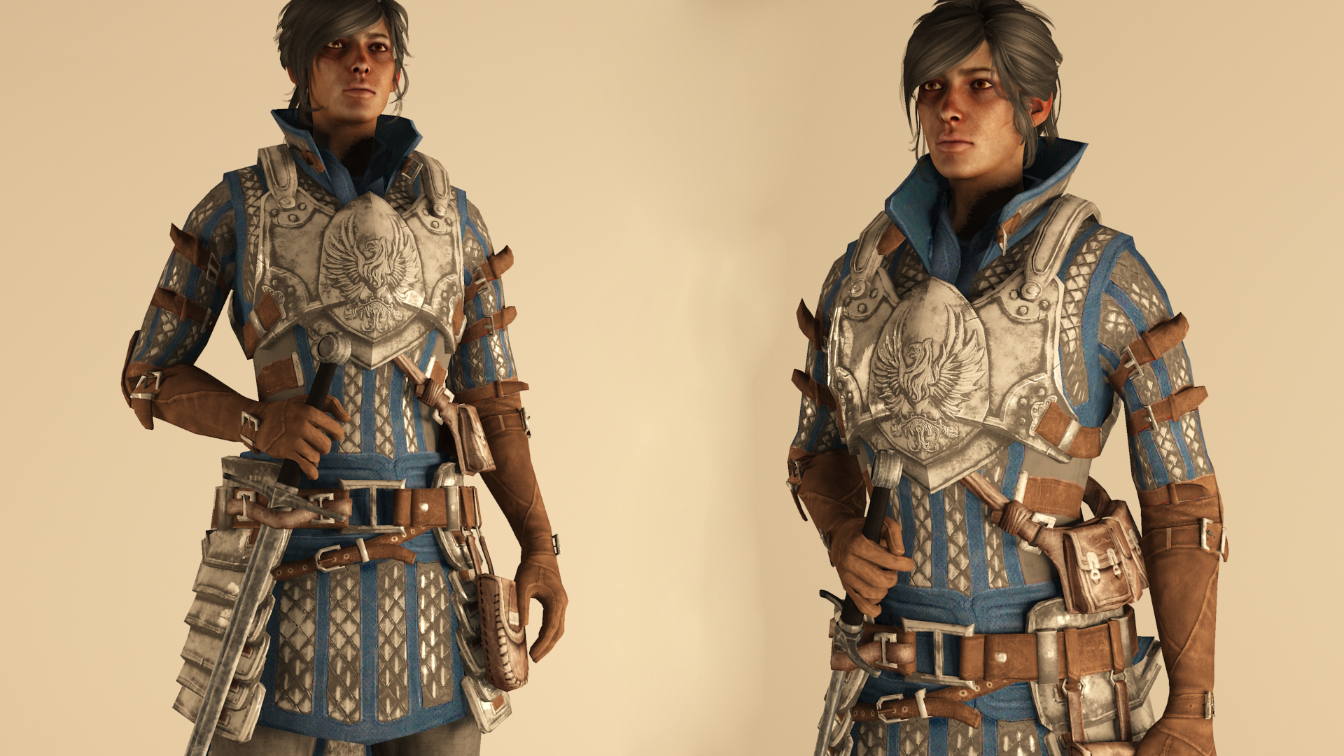 Warden-Commander Cousland -  Armor Outfit by raubkruemel