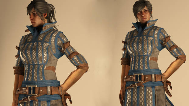 Warden-Commander Cousland - Casual Outfit