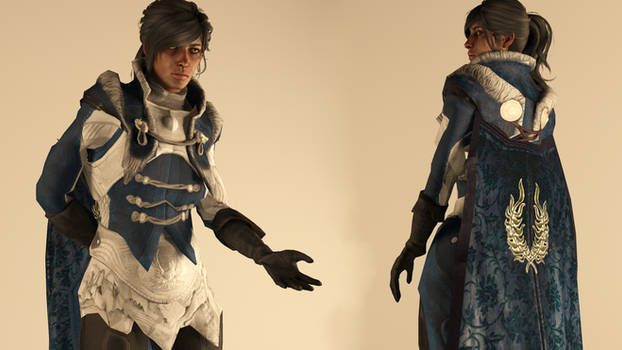 Warden-Commander Cousland -  Finery Outfit