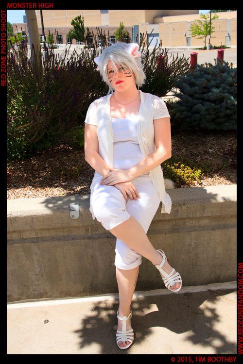 White Neko: full look by Zeronix