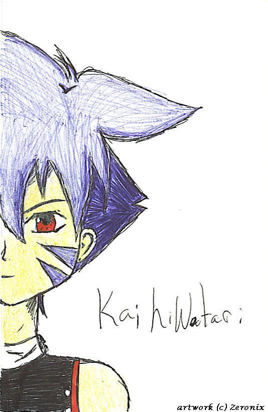 A Pen drawn Kai by Zeronix