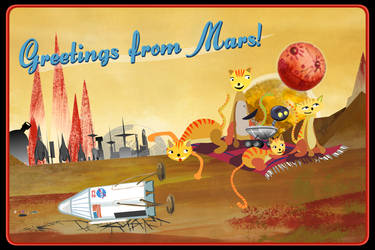 Greetings from Mars by jacobsteel