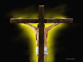 Behind The Cross by Belote-Art