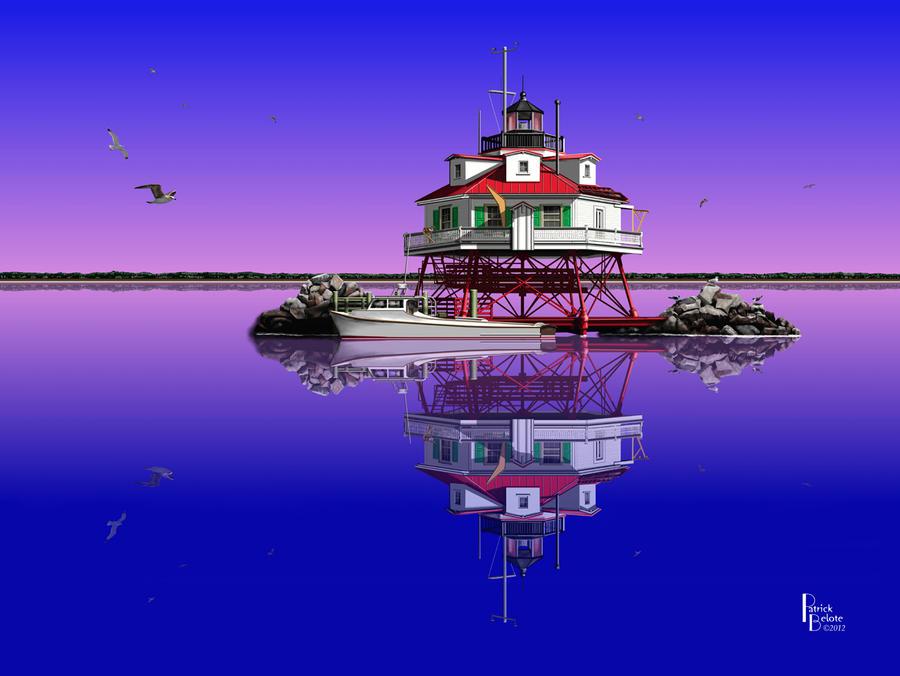 Slick Cam at Thomas Point by Belote-Art