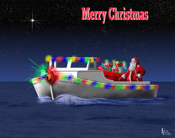 MERRY CHRISTMAS from The Chesapeake Bay by Belote-Art