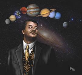 Neil DeGrasse Tyson portrait