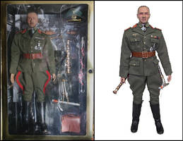 Rommel In The Past Toys ITPT Figure