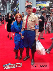 General Blue at New York Comic Con 2014 [NYCC]