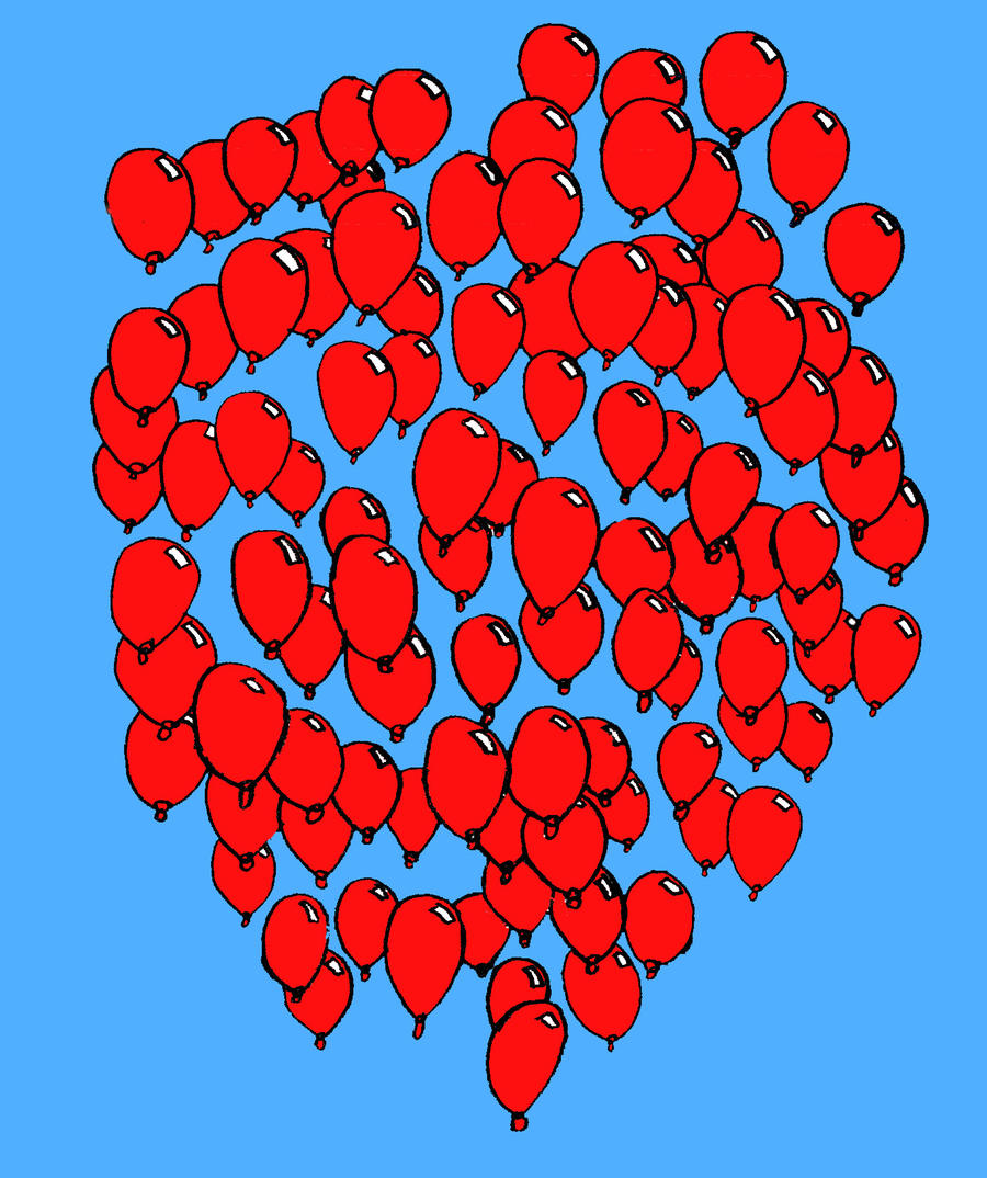 99 red balloons Lyrics to '99 red balloons' by nena: everyone's a super hero everyone's a captain kirk with orders to identify, to clarify and classify scrambling in the.