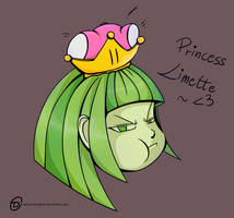 Princess Limette by ObscureDragone