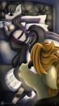 Octavia Melody x Cadenza Heartsong [SFW]