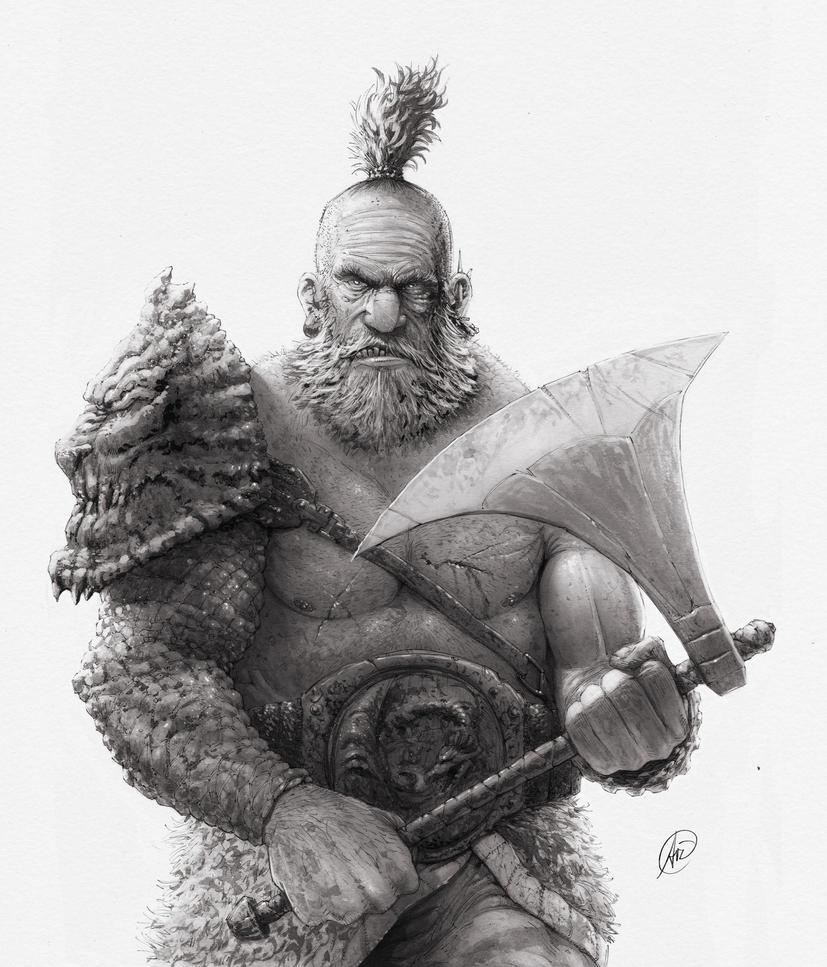 Barbarian by andersonedsilva