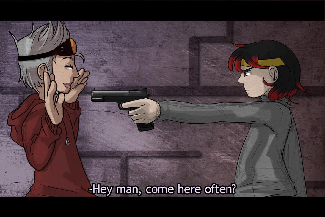 EC: Nice Gun You Got There by chichimi