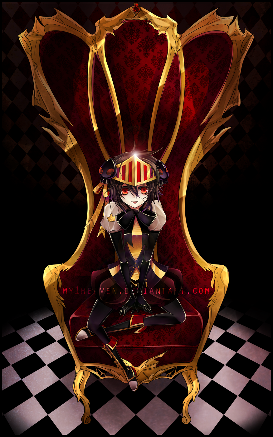SORRY, THIS IS MY THRONE! :P by hen-tie