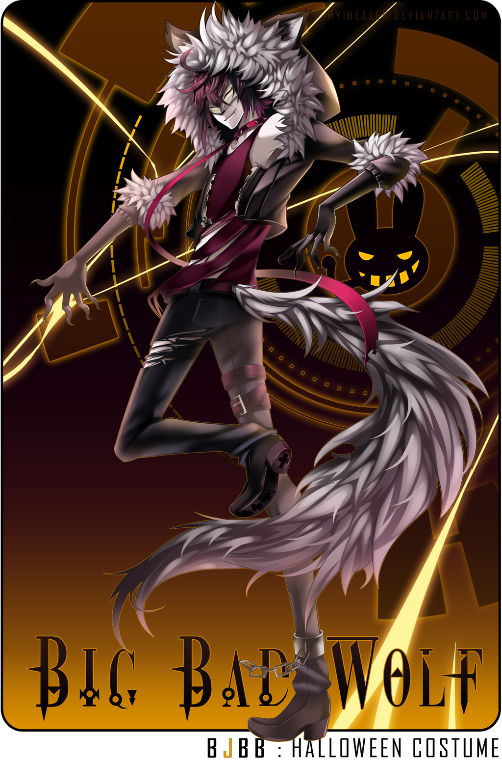 BJBB Halloween: Big Bad Wolf by hen-tie