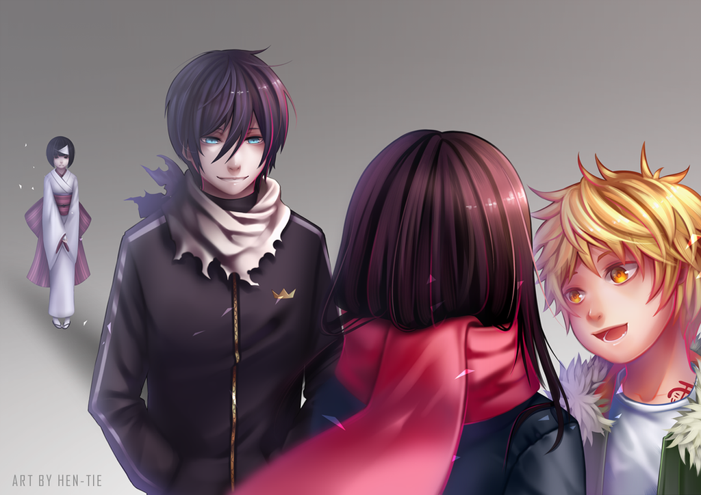 Group of Noragami Fanart 3 By