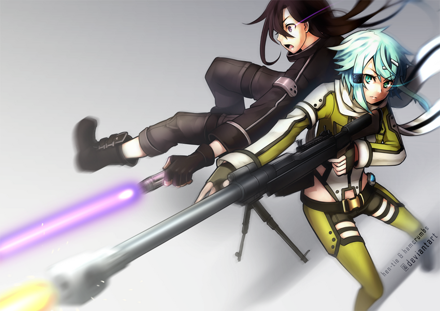 SAO2 : Dual Gale by hen-tie