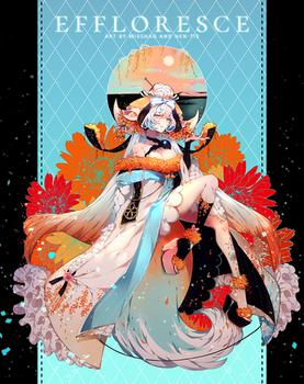 [C] Effloresce by hen-tie
