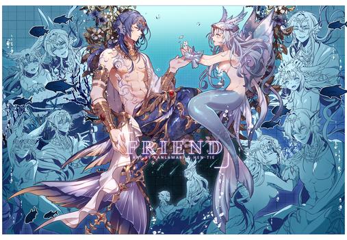 [Sketchpage] Friends