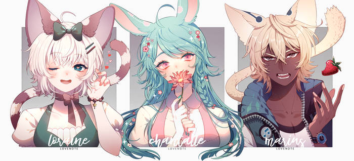 VII: Bunny and Cats