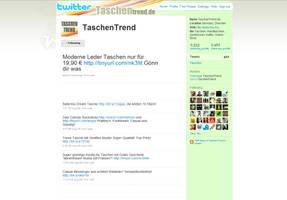 TwitterLayout for TaschenTrend