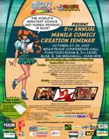 5th Manila Comics Seminar by popazrael