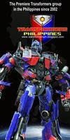 Transformers PH banner tarp by popazrael