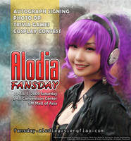 Alodia mini fans day at SMX by popazrael