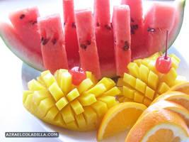 the fruit platter by popazrael