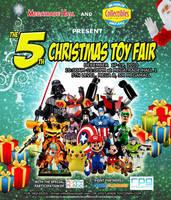 5th Xmas Toy Con poster