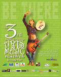 3rd Arts and Music Festival