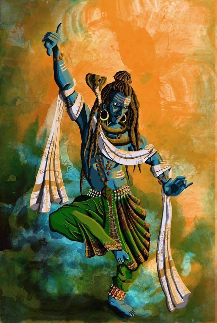 Shiva by saumitrakabra