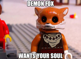 DEMON FOX (Dumb meme (felt like uploading thing)) by TheKarishad