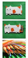 Cat Pencil Pouch 2 by uglykat