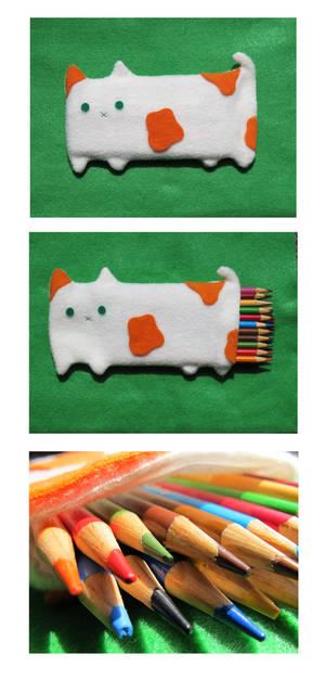 Cat Pencil Pouch 2