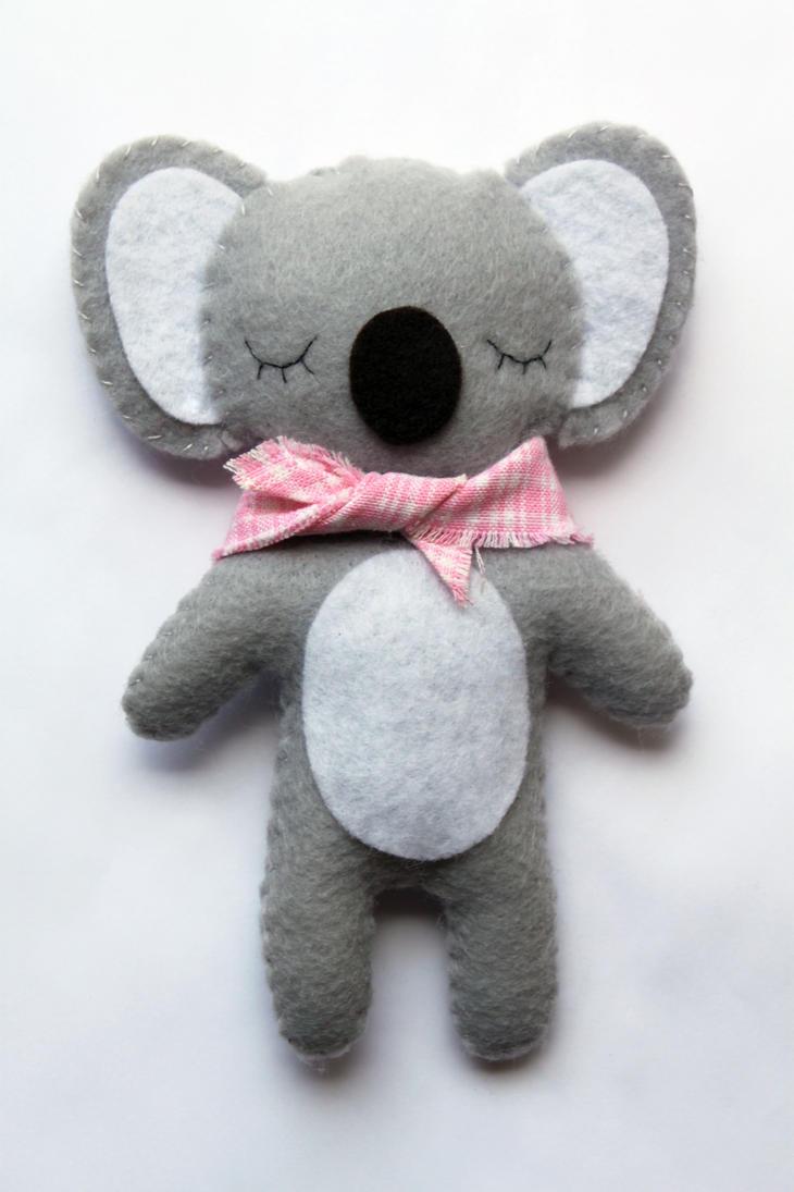 Miss Koala Plushie by uglykat
