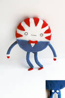 Peppermint Butler Plushie by uglykat