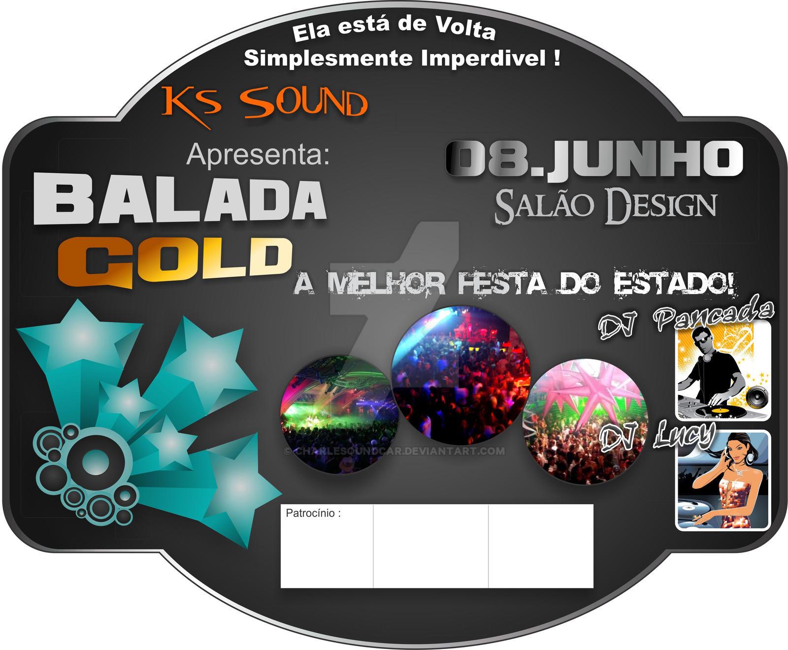 flyer Balada Gold by CHARLESOUNDcar