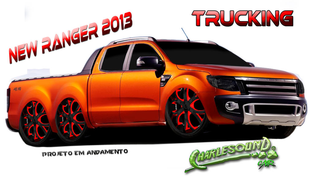 Ford New Ranger 2013 by CHARLESOUNDcar on DeviantArt