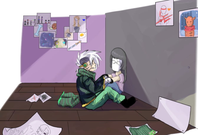 Kai's Visit by Yakurine