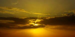 Sunset in Abadan