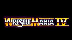 WWF Wrestlemania IV Logo