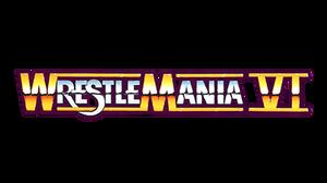 WWF Wrestlemania VI Logo