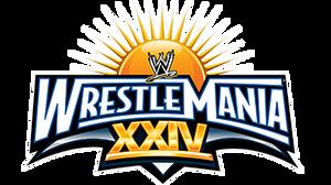 WWE Wrestlemania XXIV Logo
