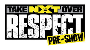 NXT TakeOver - Respect Pre Show Logo