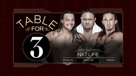 wwe table for 3 nxt life logo 2015 by wrestling networld on deviantart. Black Bedroom Furniture Sets. Home Design Ideas