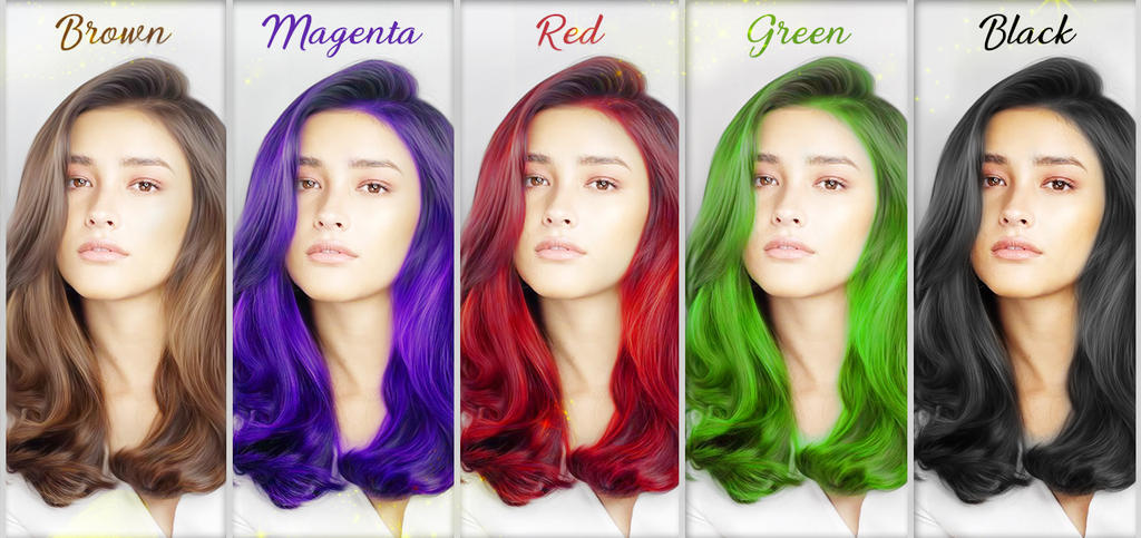 Hair Color by anwarkurnain