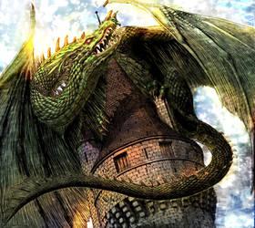 Dragon (Berserk Ch. 306) colorized