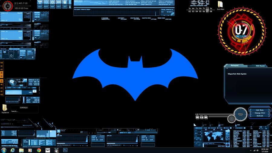 Bat Computer By Xsunstormx On DeviantArt