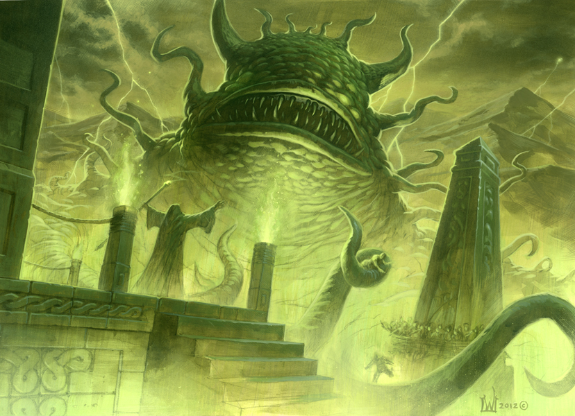 The Altar of Fhatt-Malokh Demon of Shin Shin Garr
